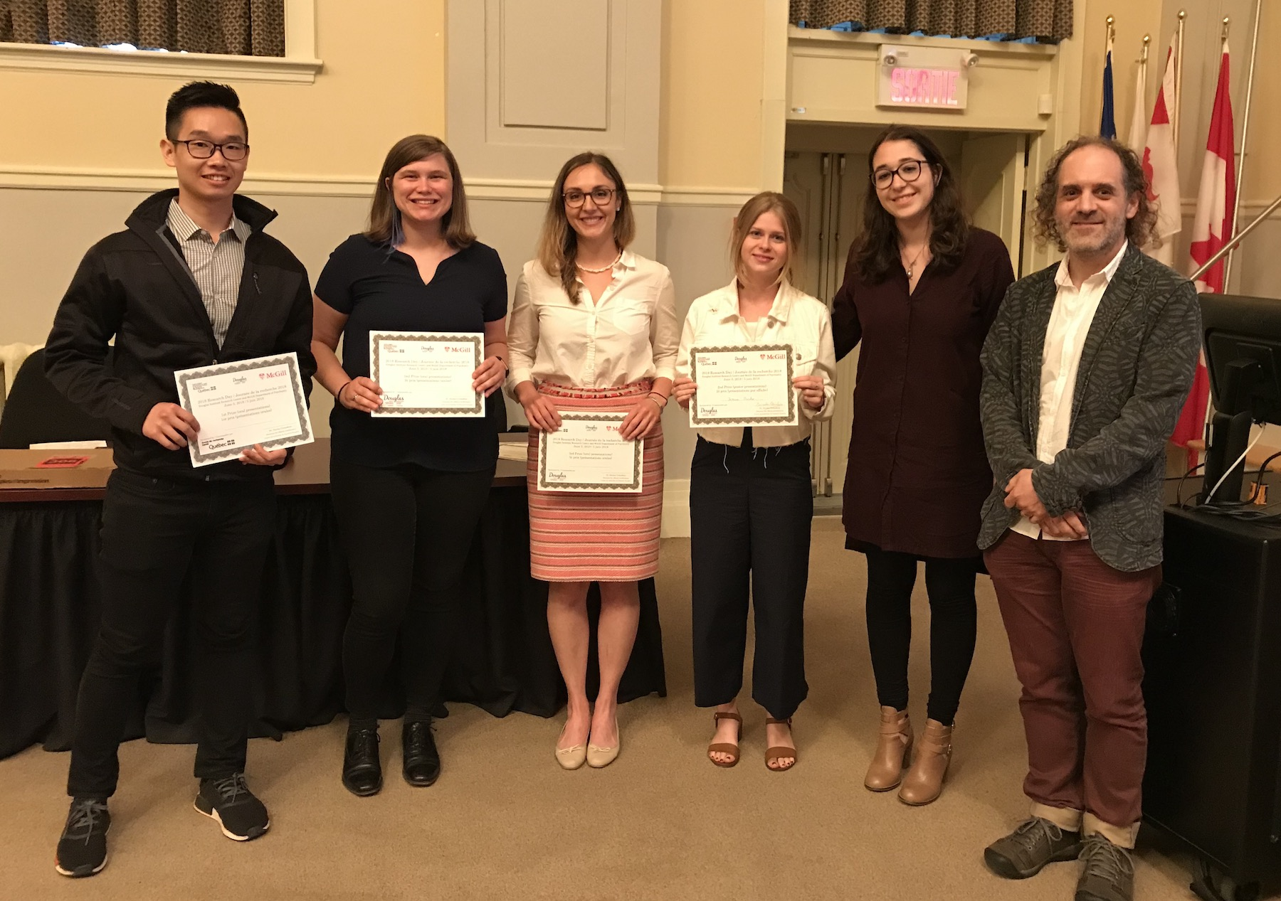Douglas Research Day Award Winners