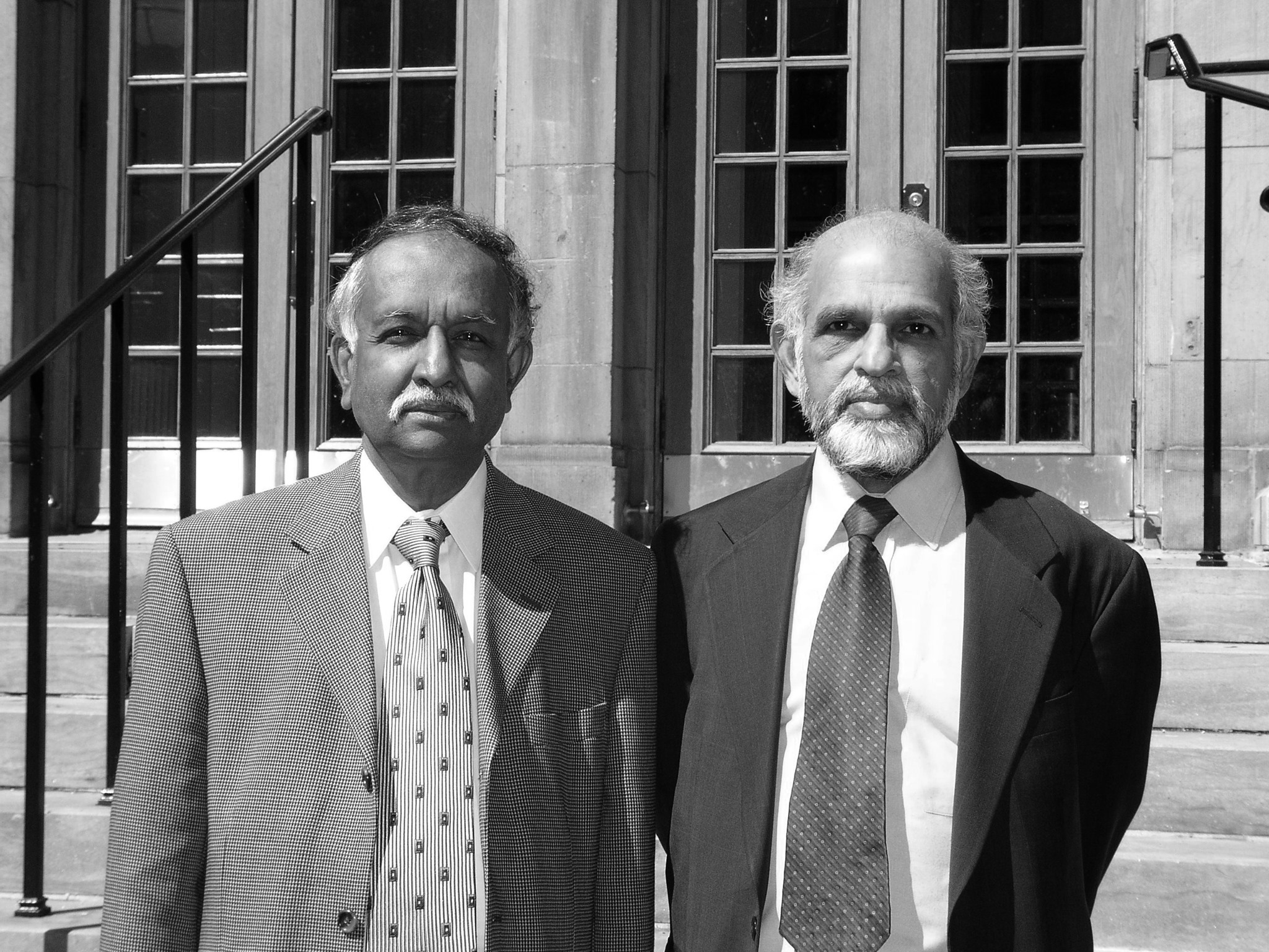 DRC Founders Samarthji Lal and Vasavan Nair