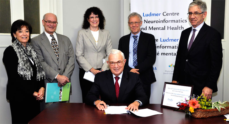 Ludmer Centre inauguration