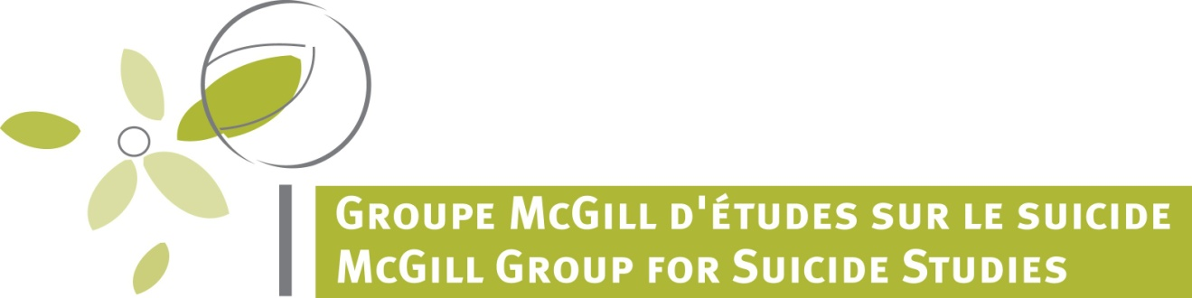 McGill Group for Suicide Studies